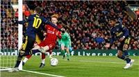 Liverpool 5-5 Arsenal: Phát sốt với pha kiến tạo bằng gót ngoạn mục của Oezil cho đồng đội ghi bàn