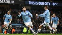 Man City 3-1 Leicester: Man City vẫn quyết bám đuổi Liverpool