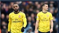 Crystal Palace 1-1 Arsenal: Aubameyang ghi bàn và thẻ đỏ, Pháo Thủ lại gây thất vọng