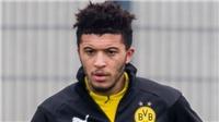Vì sao Jadon Sancho dự bị trong trận Dortmund vs Schalke?