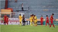 Kết quả vòng V-League vòng 7: Nam Định đại thắng SLNA. Hà Nội gục ngã trước Sài Gòn