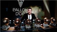 Hủy trao giải Quả bóng vàng: Messi bị 'cướp' Quả bóng vàng thứ 7?