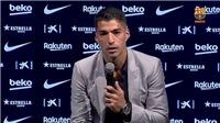 Suarez nói gì trong cuộc họp báo chia tay Barca?