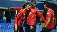 ĐIỂM NHẤN Everton 0-2 MU: Martial hồi sinh ngoạn mục. Ai cản nổi MU?