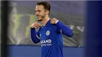 """Ngôi sao của Leicester """"móc máy"""" MU và Man City trong cuộc đua vô địch"""