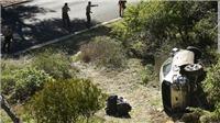 Tiger Woods may mắn thoát chết sau tai nạn nghiêm trọng