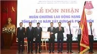 Trường Đào tạo, bồi dưỡng cán bộ quản lý TT& TT nhận Huân chương Lao động hạng Ba
