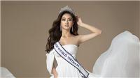 Xuất hiện trên trang chủ Miss World, Lương Thùy Linh khiến fan 'náo loạn' vì quá thần thái