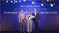 KTO trao giải thưởng du lịch Hàn Quốc năm 2019