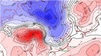 Xuất hiện vùng áp thấp trên Biển Đông, miền Bắc đón không khí lạnh