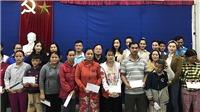Đỗ Mỹ Linh, Tiểu Vy, Lương Thuỳ Linh đến miền Trung tặng quà người dân gặp khó khăn sau bão lũ