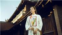 Huyền Lizzie đẹp dịu dàng trong BST mới của NTKCao Minh Tiến