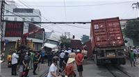Tai nạn giao thông giữa tàu hỏa và xe container