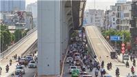 Hà Nội: Ô tô được lưu thông tại đường Vành đai 2 trên cao đoạn Ngã Tư Sở - Ngã Tư Vọng