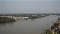 Hơn 300 tỷđồng xây dựng bờ kè dọc sông Vàm Cỏ Tây