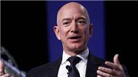 CEO Amazon Jeff Bezos giàu nhất thế giới với khối tài sản 190 tỷ USD