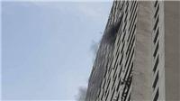Một người chết tại đám cháy ở chung cư Linh Đàm