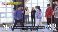 'Running man' tập 433: Bomi (Apink) 'hạ gục' anh già Sukjin với cú đá bắp chân trứ danh