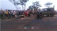 Bình Thuận: Xe máy đối đầu xe jeep, 2 người tử vong tại chỗ