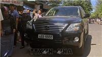 Xe Lexus lao vào đám tang tại Quy Nhơn: 3 người chết, 9 người bị thương