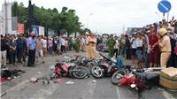 Vụ xe đầu kéo tông hàng loạt xe máy chờ đèn đỏ tại Long An: Tạm ứng bồi thường cho các nạn nhân