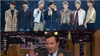 Jimmy Fallon chúc mừng BTS nhận giải Album của năm tại MAMA 2019