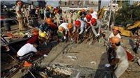 Thiệt hại về người trong vụ sập công trình đang thi công ở Campuchia