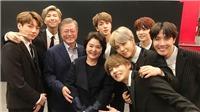 Tổng thống Hàn Quốc nhắc tới BTS trong phát biểu đón năm mới