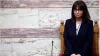Nữ Tổng thống đầu tiên của Hy Lạp tuyên thệ nhậm chức