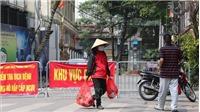 Dịch COVID-19: Triển khai cách ly y tế triệt để tại thôn Hạ Lôi, huyện Mê Linh, Hà Nội