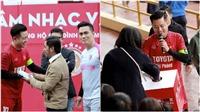 Tuấn Hưng quyên được hơn 200 triệu ủng hộ gia đình thủ môn Ngọc Tuấn U23 Việt Nam