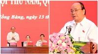 Tiếp xúc cử tri, Thủ tướng giải đáp nhiều băn khoăn