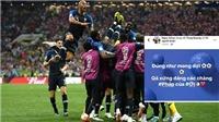 Cảm xúc trái ngược của 'dàn sao' Việt khi Pháp vô địch FIFA World Cup 2018
