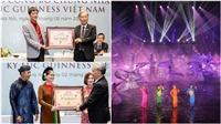 Vở diễn thực cảnh 'Tinh hoa Bắc bộ' nhận 2 kỷ lục Guinness Việt Nam