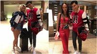 Quang Đại bất ngờ hội ngộ Hailey Baldwin - hôn thê của Justin Bieber