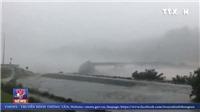 VIDEO: Kinh hoàng cảnh cây cầu từ từ đổ sập xuống sông do bão ở New Zealand