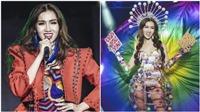 Hoa hậu chuyển giới Việt Nam Đỗ Nhật Hà rực rỡ khi mang gánh lô tô lên sân khấu quốc tế