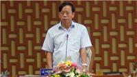Quyết định cách chức Bí thư Tỉnh ủy Quảng Nam Lê Phước Thanh
