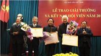 Giải thưởng Hội Nhà văn Việt Nam năm 2017: 'Mất mùa' cả thơ lẫn văn xuôi