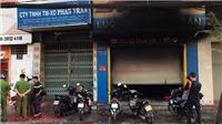 TP.HCM: Cháy cửa hàng bán túi xách, 3 người được cứu thoát