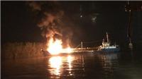 Thủ tướng chỉ đạo xử lý sự cố cháy tàu chở dầu tại Hải Phòng