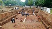 Phát hiện nhiều dấu tích quý tại khu vực Chính điện Kính Thiên - Hoàng Thành Thăng Long