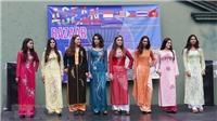 Áo dài Việt Nam tỏa sáng tại hội chợ Bazar các nước ASEAN ở Argentina