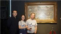 Tuyệt tác 'Thác Bờ' đạt giá cao nhất cho một bức tranh giao dịch nội địa
