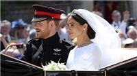 Những 'khoảnh khắc vàng' trong đám cưới cổ tích của Hoàng gia Anh