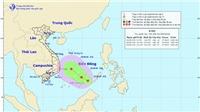 Thời tiết đêm 1 ngày 2/6: Áp thấp nhiệt đới trên khu vực Nam Biển Đông
