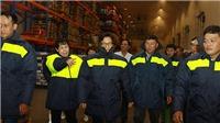 Chùm ảnh: Phó Thủ tướng Vũ Đức Đam thị sát chợ đầu mối Bình Điền lúc nửa đêm