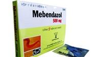 Đình chỉ lưu hành thuốc viên nén Mebendazol do không đạt tiêu chuẩn