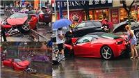 VIDEO: Cô gái biến siêu xe Ferrari 458 thành đống sắt vụn chỉ sau vài phút thuê ở đại lý