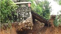 VIDEO: Tháp anten truyền hình Thái Nguyên cao 100m bị đe dọa vì sạt lở taluy